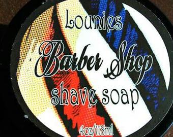 Barber Shop Shaving Soap 4oz