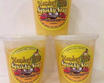 Monkey Farts Squishy Soap