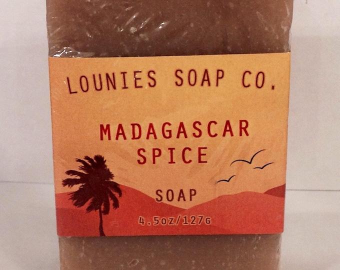 Madagascar Spice Soap   Body Soap   Hand Soap   Deodorrizing   Spiced   Unisex   Gift  
