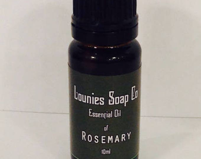 Rosemary Essential Oil   10ml   Pure   Natural   Aromatherapy   Therapeutic Grade    Energizing  