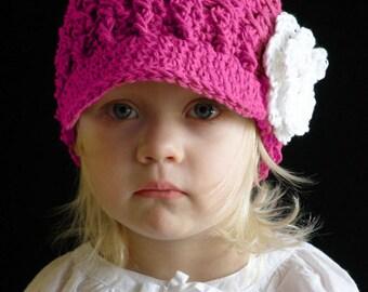 eab6ecd3abf 2T to 4T Toddler Girl Newsboy Hat Crochet Girl Visor Hat