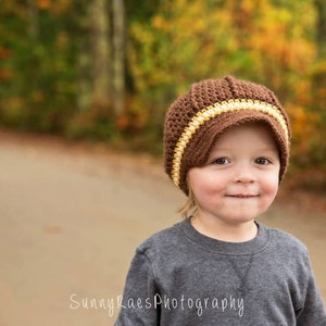 Gold and Cream Kids. Brown Children Fall Clothing Photo Props Boy Newsboy Hat 2T to 4T Toddler Boy Newsboy Cap Boy Hat
