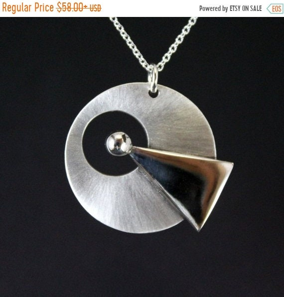 black friday sale Star Trek IDIC necklace, trekkies jewelry, sci-fi jewelry, Live Long and prosper handmade sterling silver