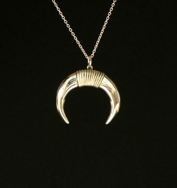 zodiac jewelry taurus jewelry horoscope symbol greek minoan style necklace sterling silver modern design fine jewelry mother's day jewelry