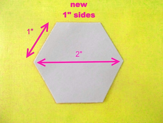 """Sew easy Paper Hexagon Pieces 1//2/"""" Packet of 100"""