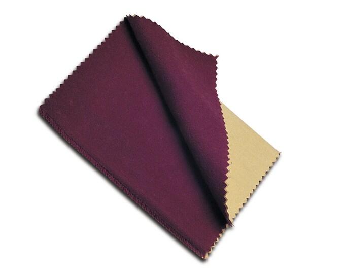 Polishing Cloth, Rouge Cloth, Jewelry Polishing, Tarnish Remover, Metal Cleaning, Metal Shine Cloth, #1038 12