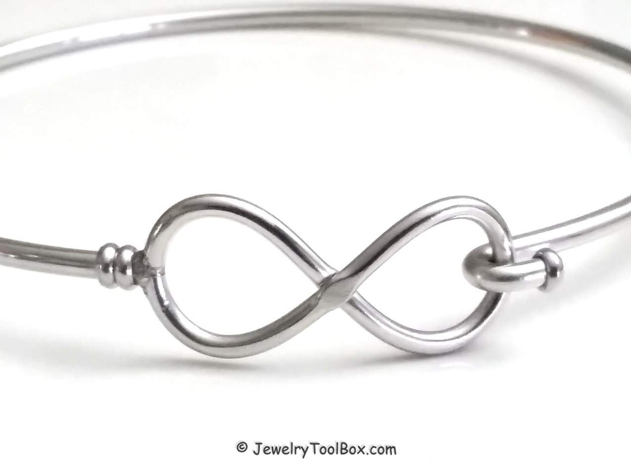 charm in il wire stainless expandable bracelet bangles bracelets fullxfull steel bangle listing