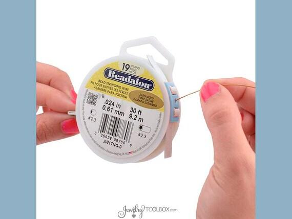 Beadalon Carrete Tamer 1 Dispensador de alambre ajustable