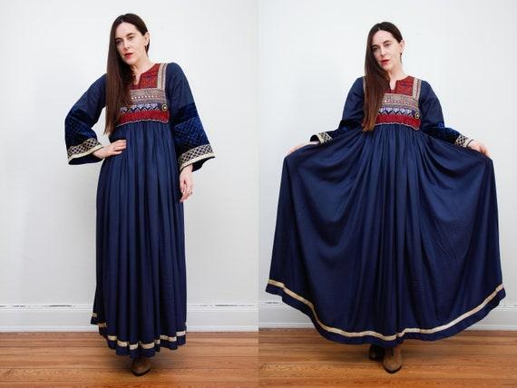 Vintage Afghan Dress