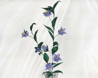 Origami bell flowers etsy mightylinksfo