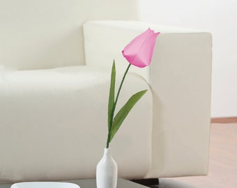 Origami Tulip, Origami Flower, Unique Flowers, Tulip Flower, Table Decoration, Wedding Decoration, Flower Decoration, Origami Flowers