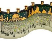 Menorah, Jewish Gifts, Hanukkah Menorah, Jewish, Wedding Gift
