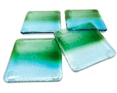 Fused Glass Coasters, Wine Glass Coasters, Beer Glass Coasters, Cocktail Coasters, Beach Coasters, Stained Glass Decor, Square Coasters