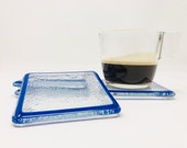 Coffee Coasters, Drink Coasters, Glass Coasters, Table Coasters, Modern Coasters, Beach Table Coasters, Square Coasters