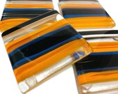 Drink Coasters, Gift for Couple, Housewarming Gift, Fused Glass Coaster