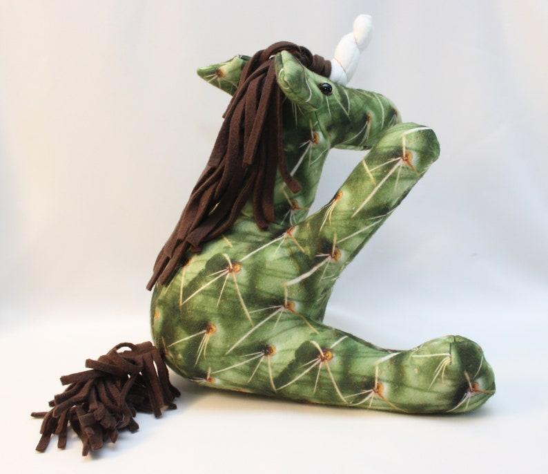ready to ship Cactus Unicorn Stuffed Animal