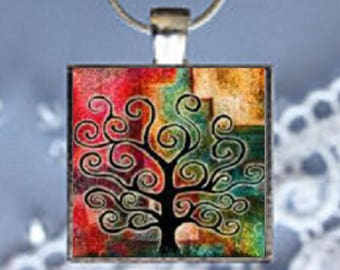 Pendant Necklace Tree of Life