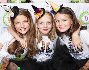 Halloween Costume Mini Witches Hat Fascinators ****** ORDER BY OCTOBER 20th  *****