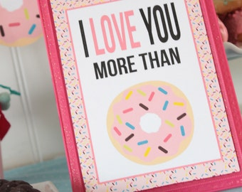 Donut Forget to Drink Your Milk table sign   Instant Download   Party Sign   Printable