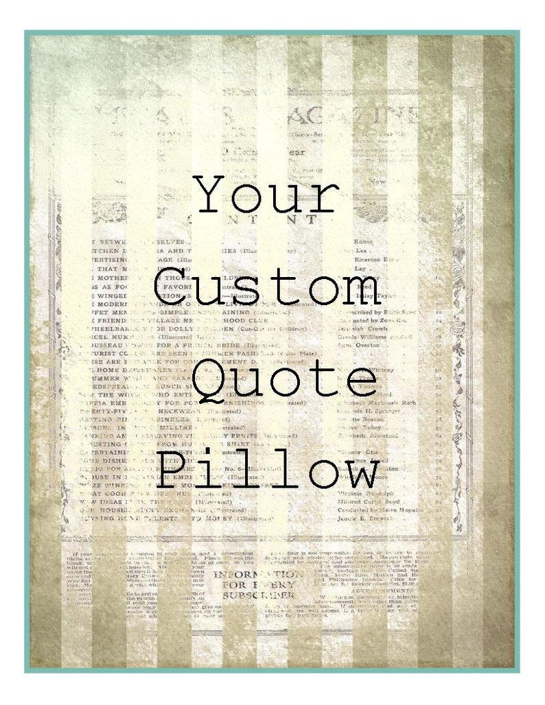 Personalized pillow, your quote cushion, cotton anniversary keepsake,  second marriage gift