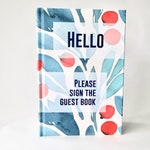Vacation Rental Guest Book, Floral Edition -- Guest Record Book, Visitors Log Book, Airbnb Generic Guestbook, Guest Sign In Book, VRBO