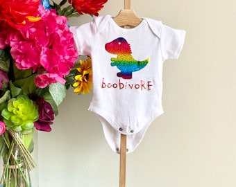 Lucky Rainbow Horse Graphic Newborn Baby Short Sleeve Bodysuit Romper Infant Summer Clothing
