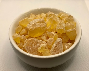 Colophony Resin - Used in incense, witchcraft, and magical operations for solar and masculine workings