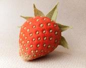 Strawberry - Felt Food