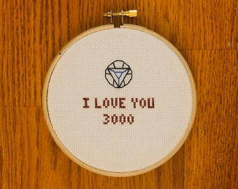 """Marvel/Disney Avengers end game movie quote """"I love you 3000"""" iron man"""