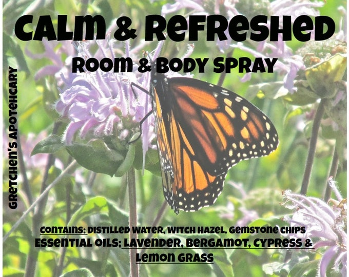 Room Spray-Clothing Spray-Lavender-Bergamot-Cypress-Lavender-Mothers Day Gifts-Aromatherapy Spray - Essential Oil- Car Spray- Office Spray