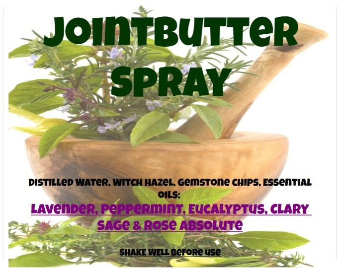 """Joint Butter Body """"Spray"""" jnts023 for Aches, Pains, Arthritis, Bruising & Minor cuts n scrapes"""