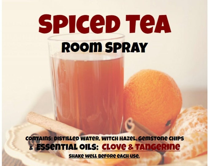 Spiced Tea Odor Neutralizer Room Spray spcd033