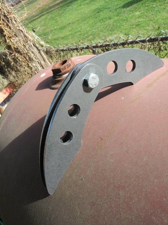 Cnc cut. Bbq smoker hinges 1//4 inch