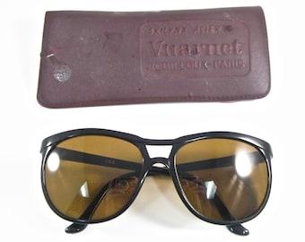 b1812338534b5 Vuarnet Pouilloux ski sunglasses 084 Paris Vintage oversized sunglasses  original case Skilynx Acier skiing glasses 1980s
