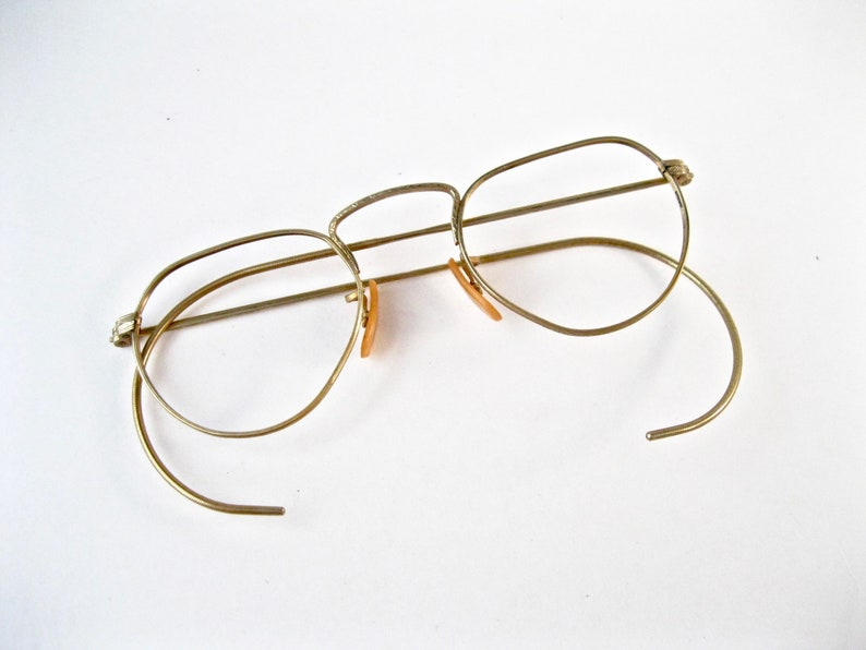 972f6fd4006 Antique gold spectacles. Bausch and Lomb B L Ful-Vue 1940s