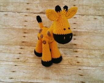 Giraffe Plushie, Baby Giraffe Amigurumi, Giraffe Stuffed Animal, Little Giraffe, Plush Giraffe, Long Neck Giraffe, Giraffe Toy, Giraffe