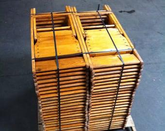 Remarkable Folding Wood Chair Etsy Ncnpc Chair Design For Home Ncnpcorg