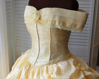 Princess Beauty - Custom Made Adult Princess Costumes, Cosplay Costumes, Belle Cosplay, Party Princess Dresses