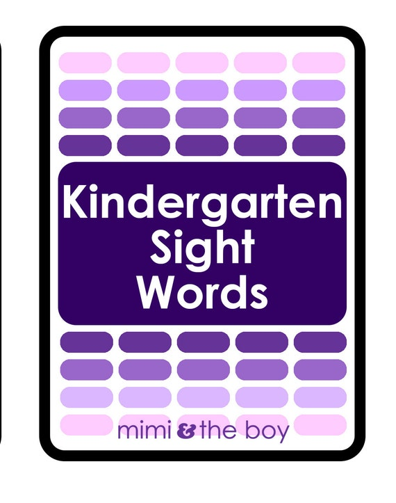 picture relating to Printable Sight Word Cards called Printable Kindergarten Sight Phrase Playing cards - Informative downloadable print looking through