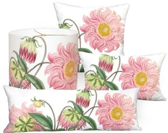 Pink flower pillow etsy popular items for pink flower pillow mightylinksfo