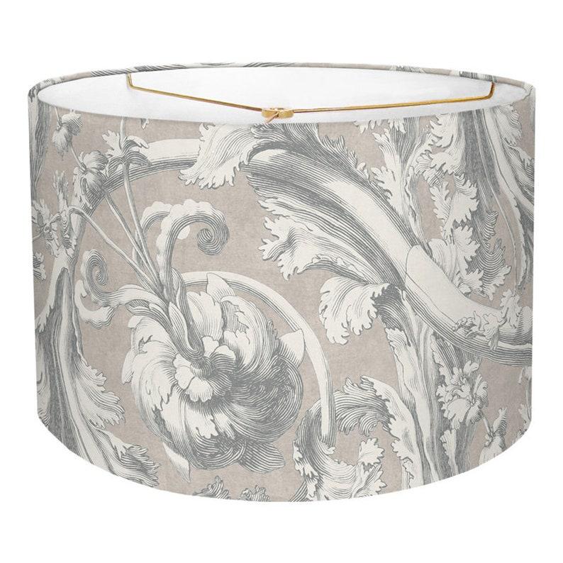 Inch Drum Lamp Shade, 14 Inch Lamp Shade Linen