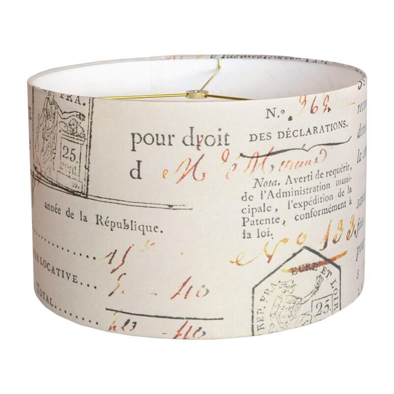 Inch Diameter Drum, 14 Inch Lamp Shade Linen