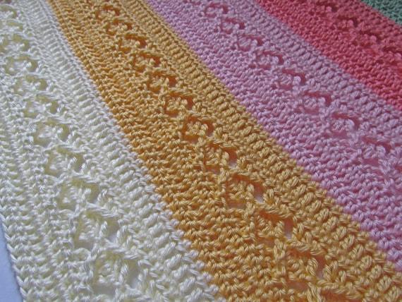 Pdf Crochet Pattern Diamond Chevron Blanket Can Be Made Any Size