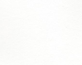 White Classic Cotton Handmade Paper 5x7 - Fine Art Paper Sheets