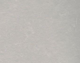 Warm Grey Classic Cotton Handmade Paper 5x7- A7 Fine Art Paper