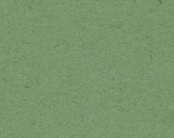 Handmade Paper 5x7 - Terre Verte Mixed Media Fine Art Paper