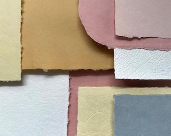 June Paper Parcel - Handmade Paper