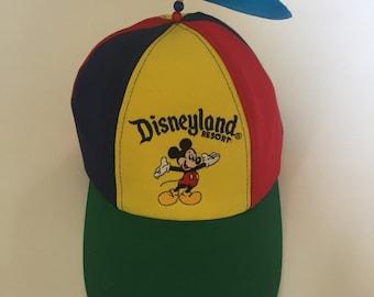 bdb55f08f72 Vintage Disneyland Propeller Hat - Youth Size