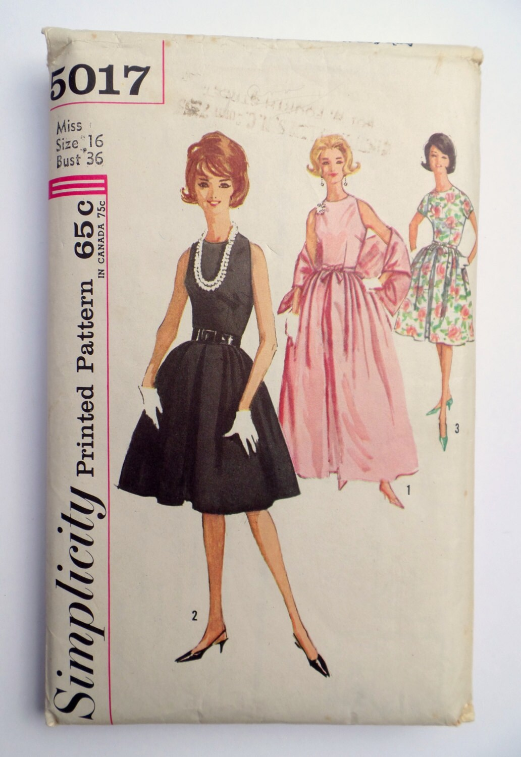 Vintage Pattern Simplicity 5017 Sewing pattern 1963 1960s full | Etsy