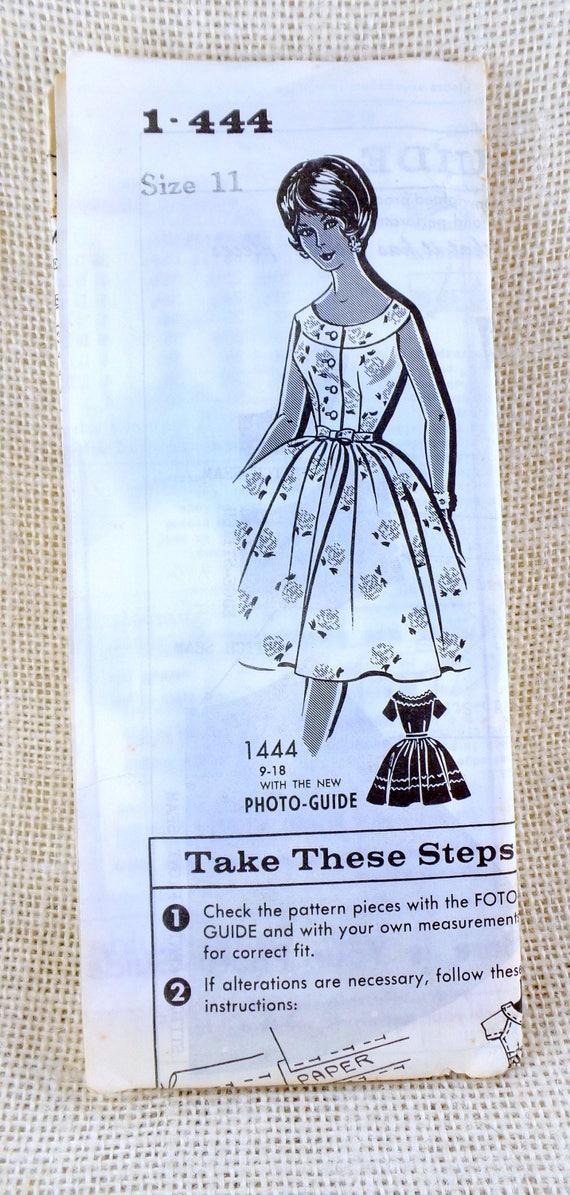 vintage pattern dress pattern sewing pattern mail order etsy rh etsy com